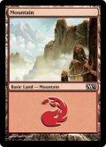 【FOIL】山/Mountain #245 [M12-ENB]