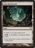【FOIL】不気味な辺境林/Grim Backwoods [DKA-ENR]
