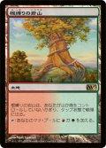 【FOIL】根縛りの岩山/Rootbound Crag [M13-JPR]