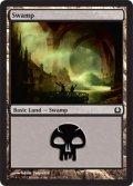 【FOIL】沼/Swamp #262 [RTR-ENB]