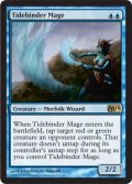潮縛りの魔道士/Tidebinder Mage [M14-ENR]