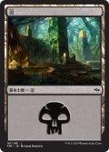 【FOIL】沼/Swamp #181 [FRF-JPB]