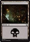 【FOIL】沼/Swamp #256 [KLD-JPB]