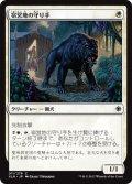 【FOIL】宿営地の守り手/Encampment Keeper [XLN-JPC]