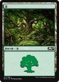 【FOIL】森/Forest #277 [M19-JPB]