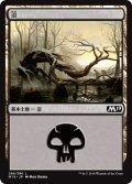 【FOIL】沼/Swamp #269 [M19-JPB]