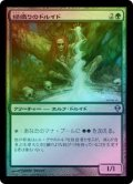 【FOIL】緑織りのドルイド/Greenweaver Druid [ZEN-JPU]