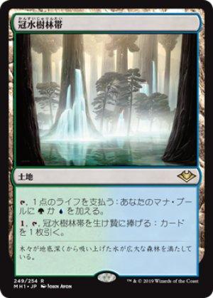 画像1: 【FOIL】冠水樹林帯/Waterlogged Grove [MH1-JPR]