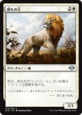 【FOIL】群れの王/King of the Pride [MH1-JPU]