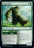 【FOIL】豆の木の巨人/Beanstalk Giant [ELD-JPU]