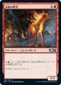 炎血の野犬/Igneous Cur [M21-JPC]