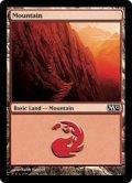 【FOIL】山/Mountain #244 [M12-ENB]