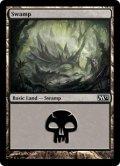 【FOIL】沼/Swamp #238 [M12-ENB]